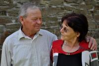 Josef Bannert s manželkou Miluší / červenec 2017