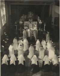 Vestion ceremony in Olomouc-Řepčín 22.8.1948