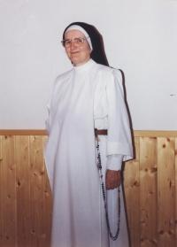 Slavomíra wears a dominican habit