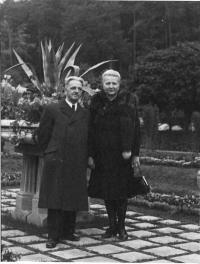 Alois a Marie Bohušovi, rodiče sestry Dominiky