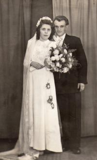 Svatební foto 1948-1