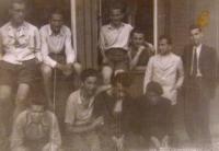 Karlsfeld, Munich, Germany, their barrack in the camp in 1944, Totaleinsatz