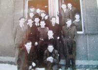 Karlsfeld, Munich, Germany, camp barrack in 1944