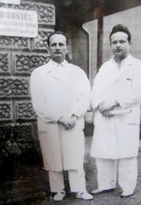 MUDr. Miloš Chmelíček, 70. léta, Nemocnice Třebíč