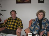 Evženie Hamplová s manželem v roce 2009