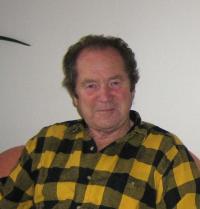 Manžel Miroslav Hampl v roce 2009