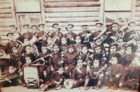 Dědeček Jaroslav Hajný v kapele v carské armádě