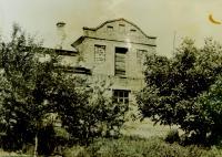 Dům Hajných v Českých Dorohostajích v roce 1967
