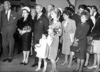 Svatba Karla Engliše nejmladšího s Jitkou Trojkovou, rok 1963