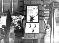 Snímek z Liberce po srpnové okupaci v roce 1968 č. 2