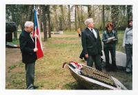 V.S. v KT Sachsenhausenu – Oranienburgu u příležitosti odhalení pomníku obětem z řad českých studentů