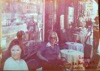 JAT: V Římě před MAX a Via Nationale, 21. 5. 1977. / U Rimu, ispref MAX i Via Nationale, 21. 5. 1977.