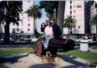 JAT: V Los Angeles - procházka po parku ve Santa Monice, s kolegy s posádky