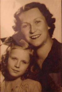 Pamětnice s matkou