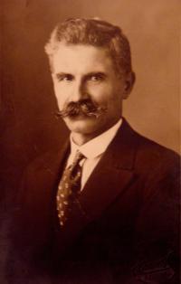 Historické fotky: Jan Laník (děda pamětnice), portrét