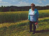 Marie Brychtová z dovolené, na kterou jezdí s přáteli z Církve adventistů sedmého dne