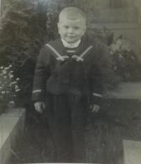 Alois Grůz v dětství
