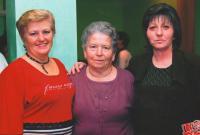 Mira, Franjica and Marija; village of Beska; 01.12.2007
