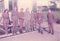 """""""On the Trace of Srem Unit"""" or """"On Trace of Vojvodina Partisans"""", night march, october-november 1984-5"""