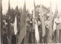 Youth Work Action Tjentiste (ORA Tjentiste) 1983, brigade Veljko Vlahovic