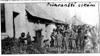 Oslavany in 1930´s : Romani settlement in Oslavany.