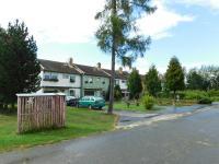 Domy v níž bydleli učitelé zemědělské školy v Horních Heřmanicích