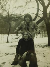 Dole Vladimír Trlida v roce 1977