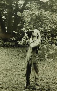 Vladimír Trlida na konci osmdesátých let