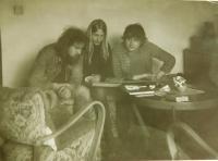 Vladimír Trlida s přáteli
