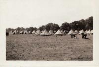 Cholmondeley camp. 1940