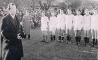 Jedno z prvních poválečných sportovních zápolení 1945