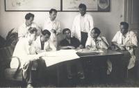S panem profesorem Bedřichem Rozehnalem