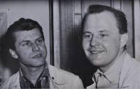S Boleslavem Pisáříkem 1962