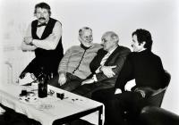 Oslava šedesátých narozenin profesora Jana Jelínka