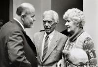 S Vladimírem a Světlou Karfíkovými 1986
