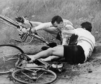 Pád při Závodu Míru, rok 1964