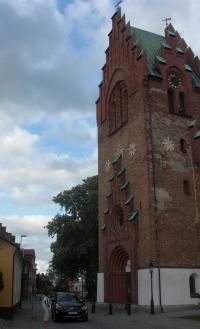 Kostel, ve kterém se ukrýval před kolegy, když v roce 1966 emigroval
