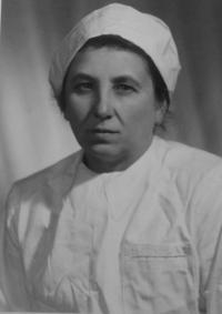 teta Marie Jurková - sestra matky