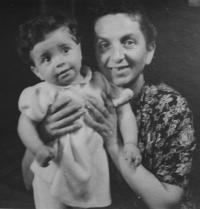 Ivana and her mother