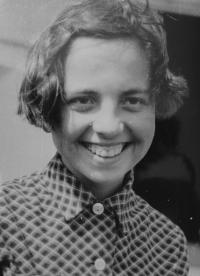 Ivana Bočková as a young woman