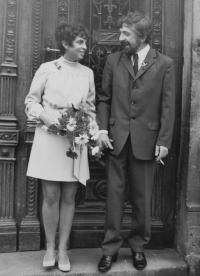 wedding with Mr. Boček