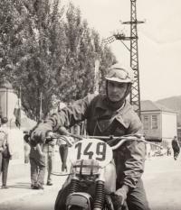 Květoslav Mašita - mistrovství ČSSR Považská Bystrica 11. a 12. června 1966