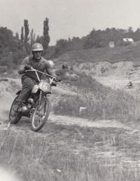 Květoslav Mašita - první motorka Pionýr okolo 1962