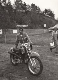 Květoslav Mašita - před šestidenní v USA 1973