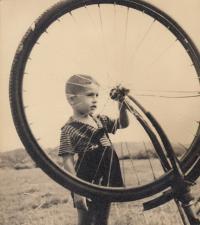 Květoslav Mašita - Všenory okolo 1952