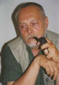 Kamil Kalina s dýmkou