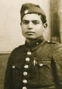 Moisis Stambolidis, otec pamětnice, okolo roku 1943