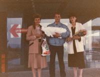 Narození Sáry Jaganjac v Sarajevě (září 1986)