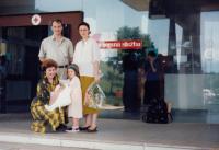 Narození Niny Jaganjac v Sarajevě (červen 1990)