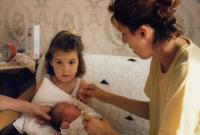 Doubravka s dětmi (září 1990 - Sarajevo)